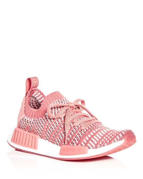 4e2cbf1d9 Adidas Women s Nmd R1 Knit Lace Up Sneakers
