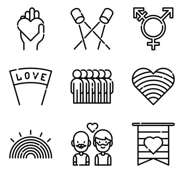 30 Free Vector Icons Of World Pride Day Designed By Freepik In 2021 Pride Day Vector Free Free Icon Packs