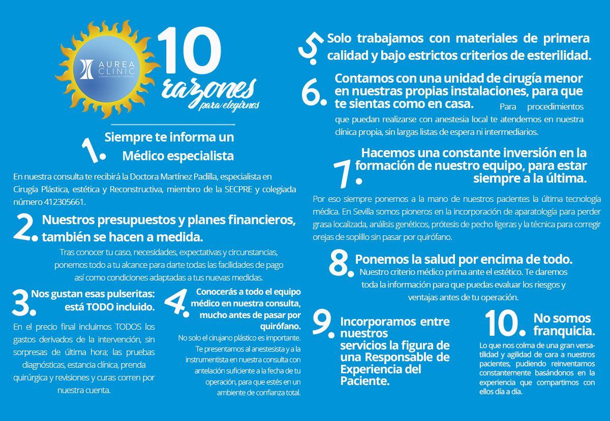 Te damos 10 poderosas razones para que nos elijas como tu clínica de ...