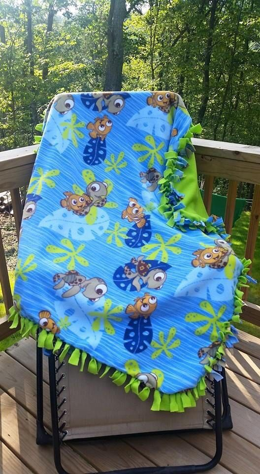 Finding Nemo Blanket Baby Boy Themes New Baby Products