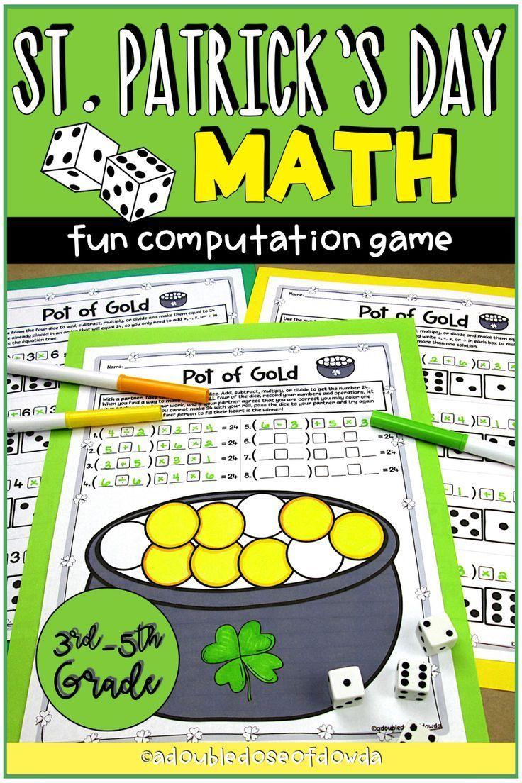 3rd Grade Math Computation Worksheet