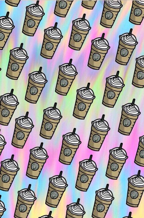 Emoji Backgrounds Emojibackgrounds Starbucks Wallpaper Starbucks Background Wallpaper Iphone Neon