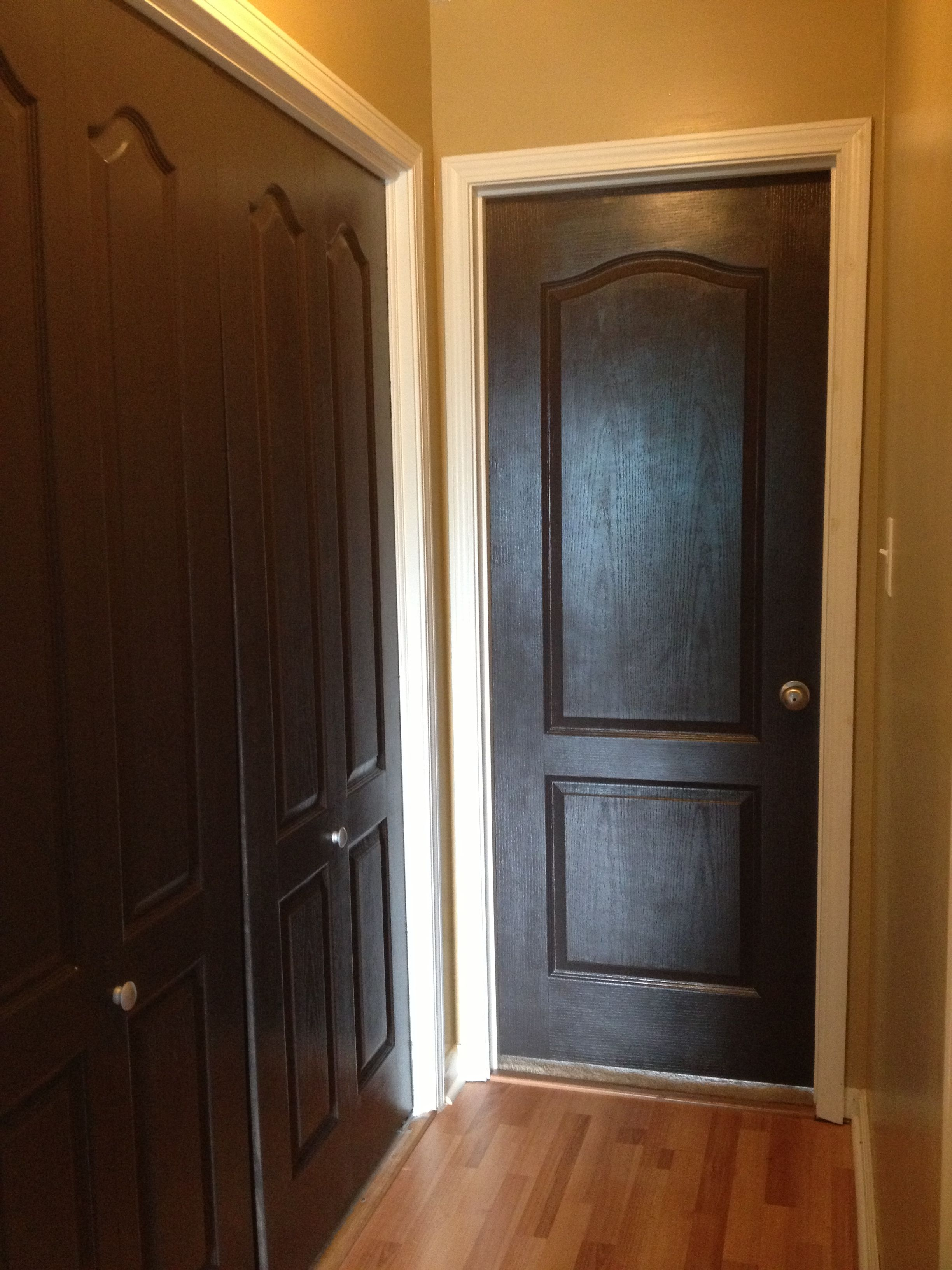 interior doors painted espresso for the home painted interior rh pinterest com