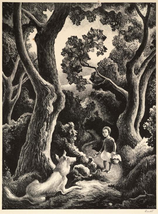 jessie and jake, 1942. thomas hart benton. signed lithograph on rag ...