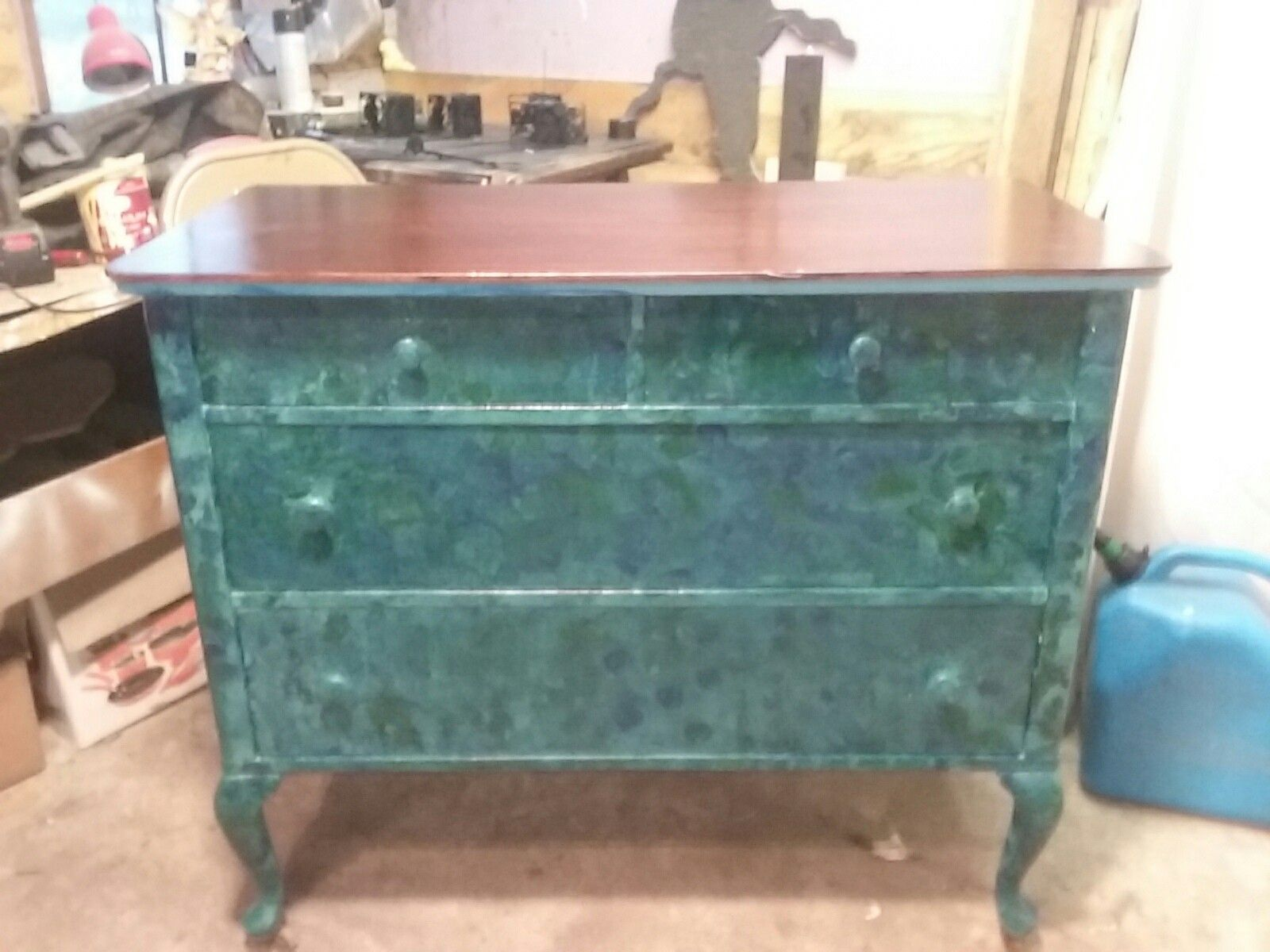Antique Dresser Made Gorgeous