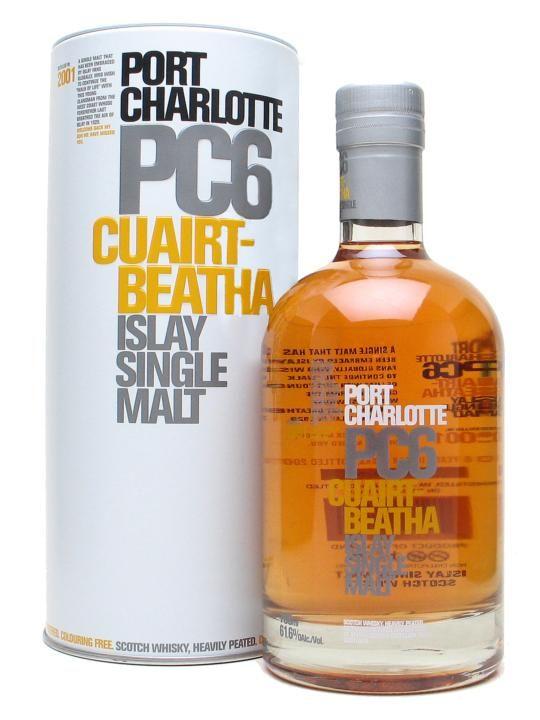 Bruichladdich Port Charlotte Scotch Whisky