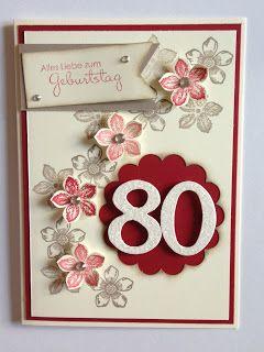 Pinterest geburtstagskarte 80