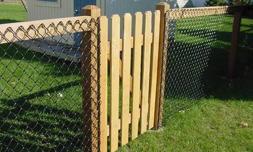 Classier alternative to a classic chainlink fence