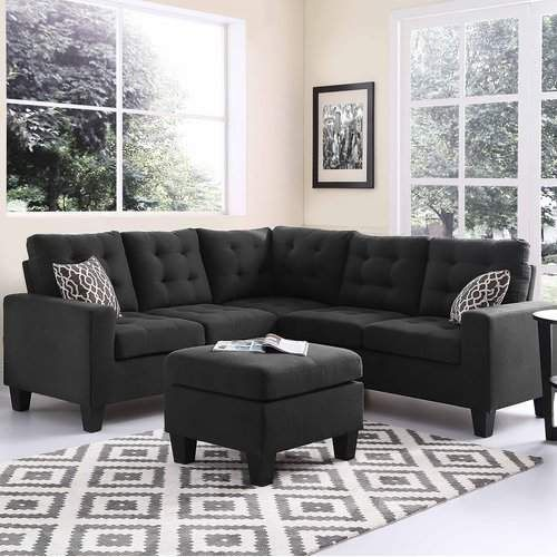 pawnee sectional with ottoman in 2018 products pinterest rh pinterest com