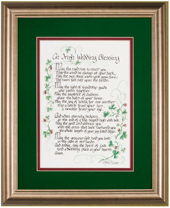 Irish Wedding Blessing Gifts: Pin On Erin Go Bragh