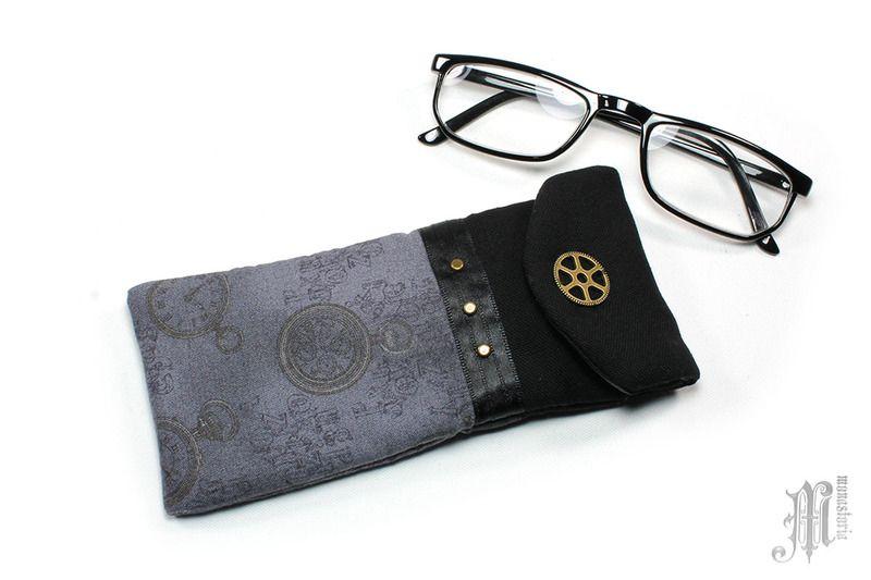 Brillenetuis - Brillenetui Algernon - ein Designerstück von Monastoria bei…