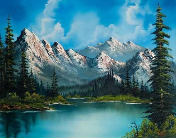 Bobrosspaintingsforsale Home Paintings Bob Ross Paintings