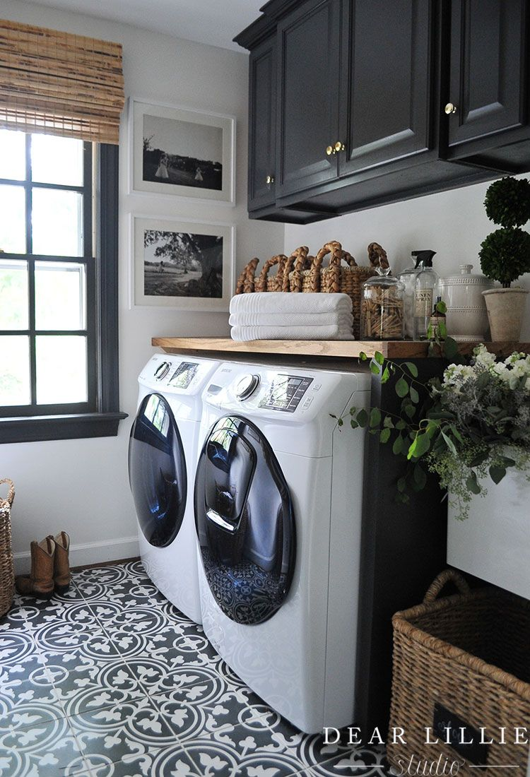 Adding Some Finishing Touches To Our Laundry Room Dear Lillie
