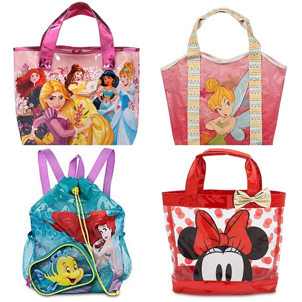 Disney Store Swim Bag Tote Backpack Princess,Tinker Bell