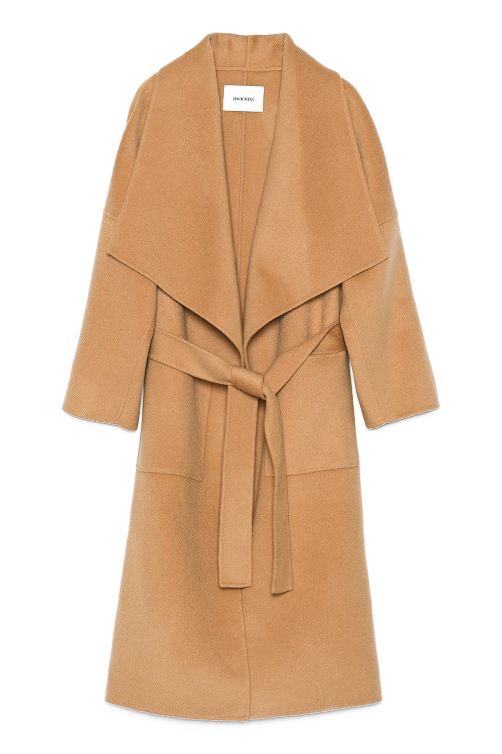 b932543157f3 A Wide-Collared Camel Coat for Walking the Afghan Hound You're Going to Own  Soon