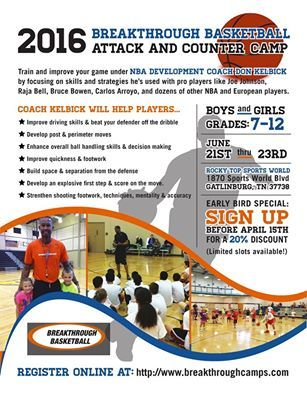 Register Before April 15th To Save 20 On Registration Bruce Bowen Athletic Events Home Team