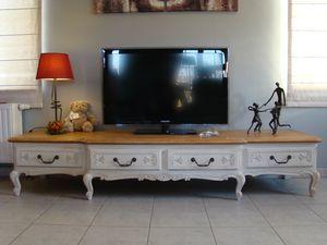 Magnifique Meuble Bas Pour Ecran Plat Style Louis Xv Relooking Meubles Interieur Meuble Bas Meuble Interieur Mobilier De Salon