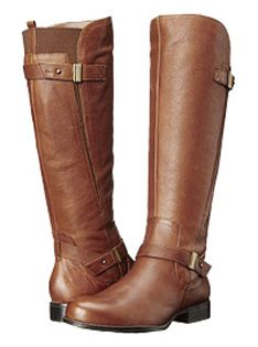 443c52a38 Naturalizer Women's Joan Wide Calf Boot (Banana Bread) - Extra Wide Calf  Boots and extra wide foot