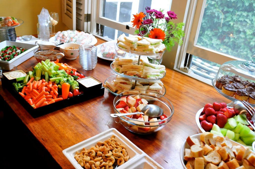 fall bridal shower menu ideas%0A wedding shower ideas at work
