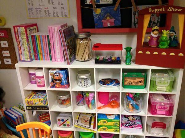 American girl dollhouse playroom and nursery school