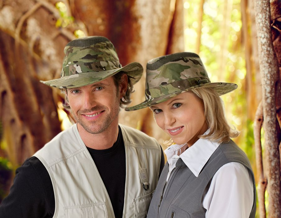 Experience the world in your Tilley LTM6 Camo hat. This stylish hat  protects you from the sun and rain. Ideal for travel! 44214bc64b9
