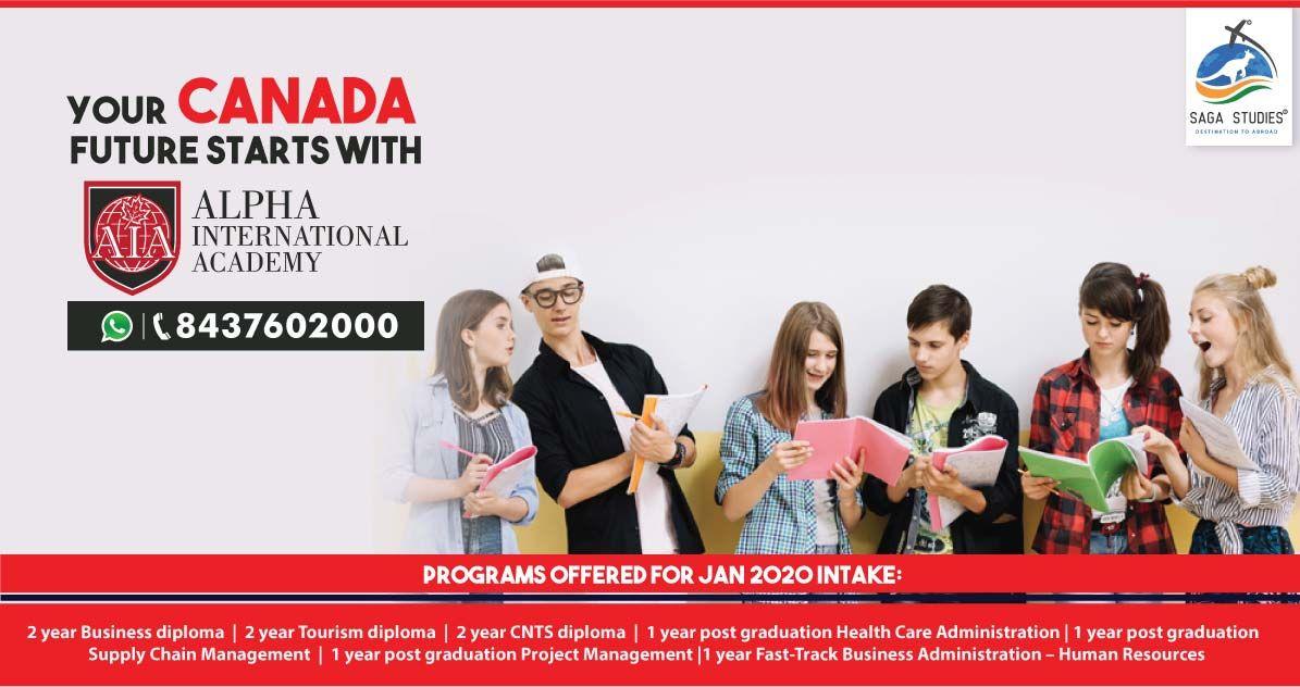 ️ Wish to study in Alpha International Academy ,Canada