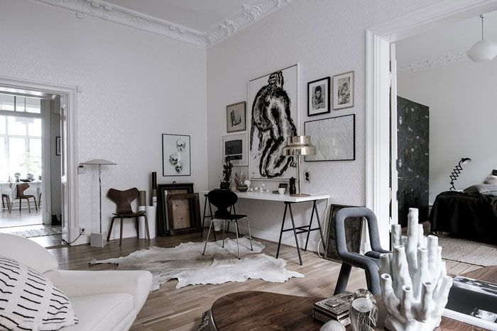 an inspiring interior with a unique and personal look d cor rh za pinterest com