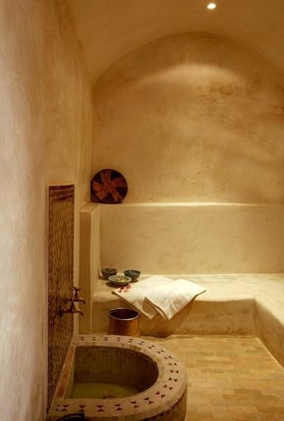 hammam photo design moroccan pinterest hammam salle de bains et salle. Black Bedroom Furniture Sets. Home Design Ideas