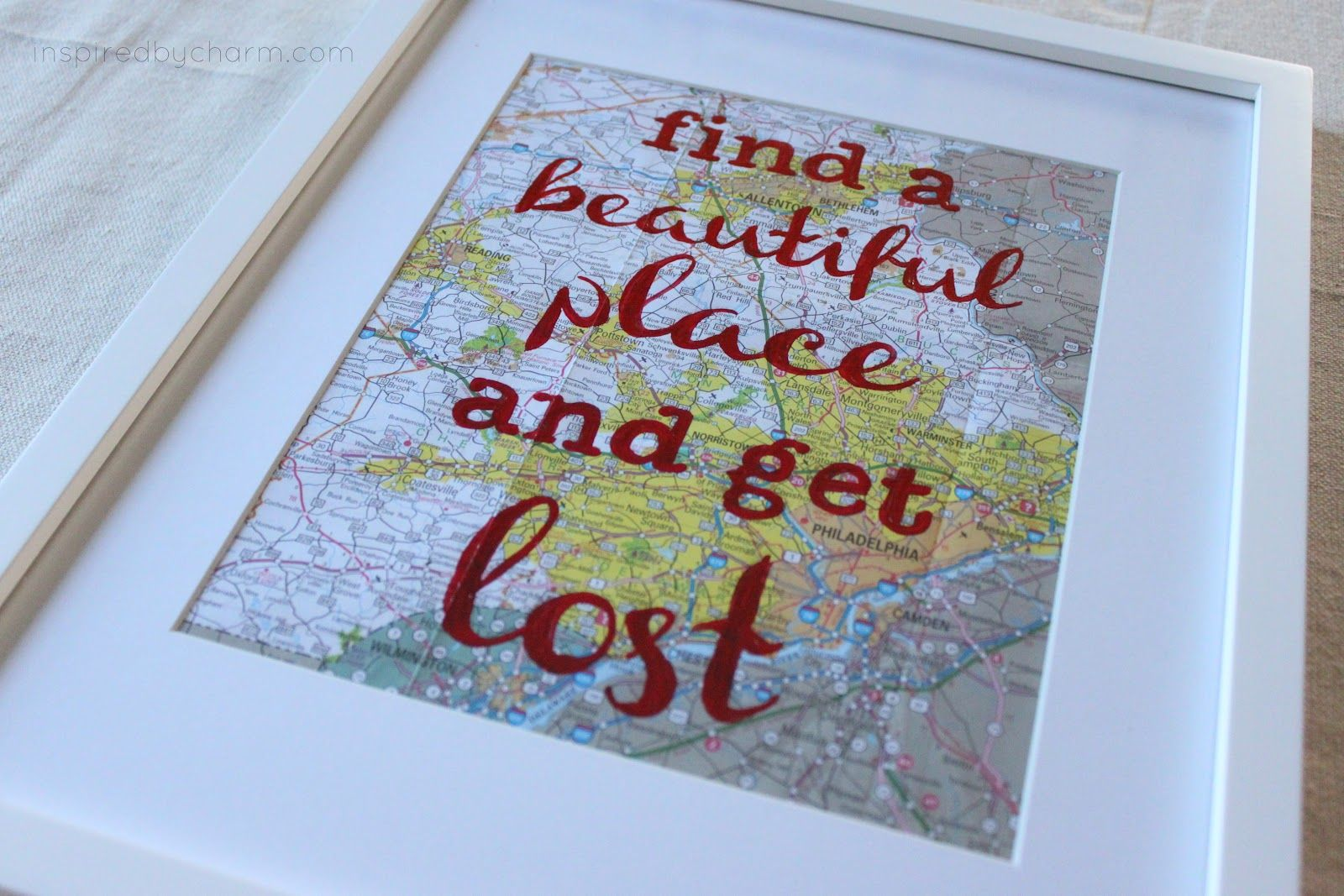 Don't be afraid to get lost. It's part of the adventure.