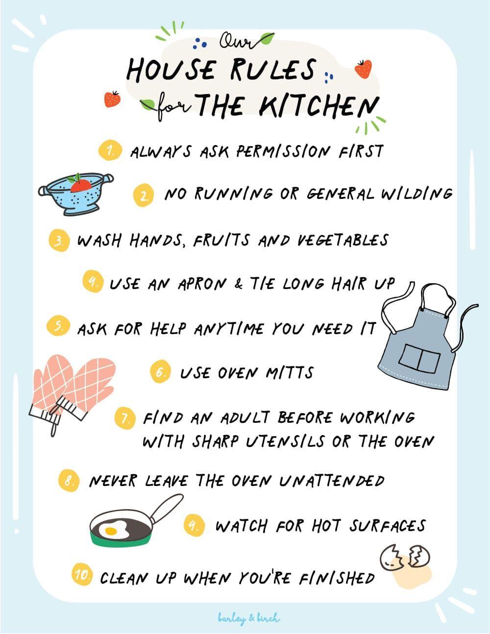 Handson activities to help kids develop kitchen skills in