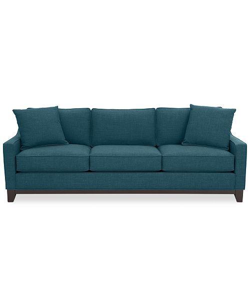 keegan 90 fabric sofa created for macy s furniture sofa fabric rh pinterest com