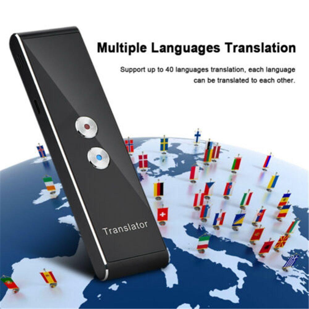 Portable Wireless Smart Translator 40 Languages 📦 HASSLE