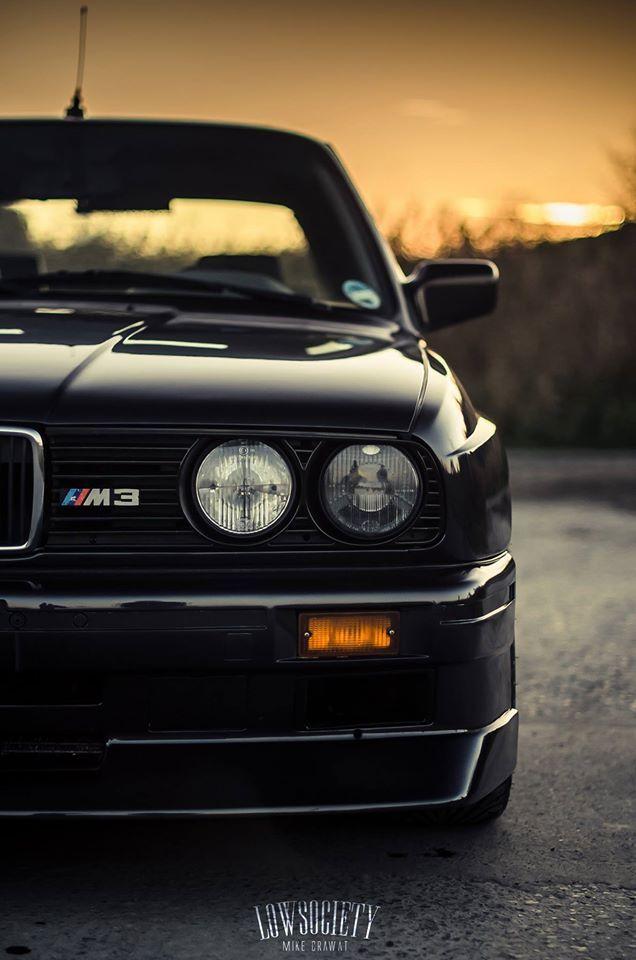 BMW E30 M3 Black (1920x1080) : wallpapers