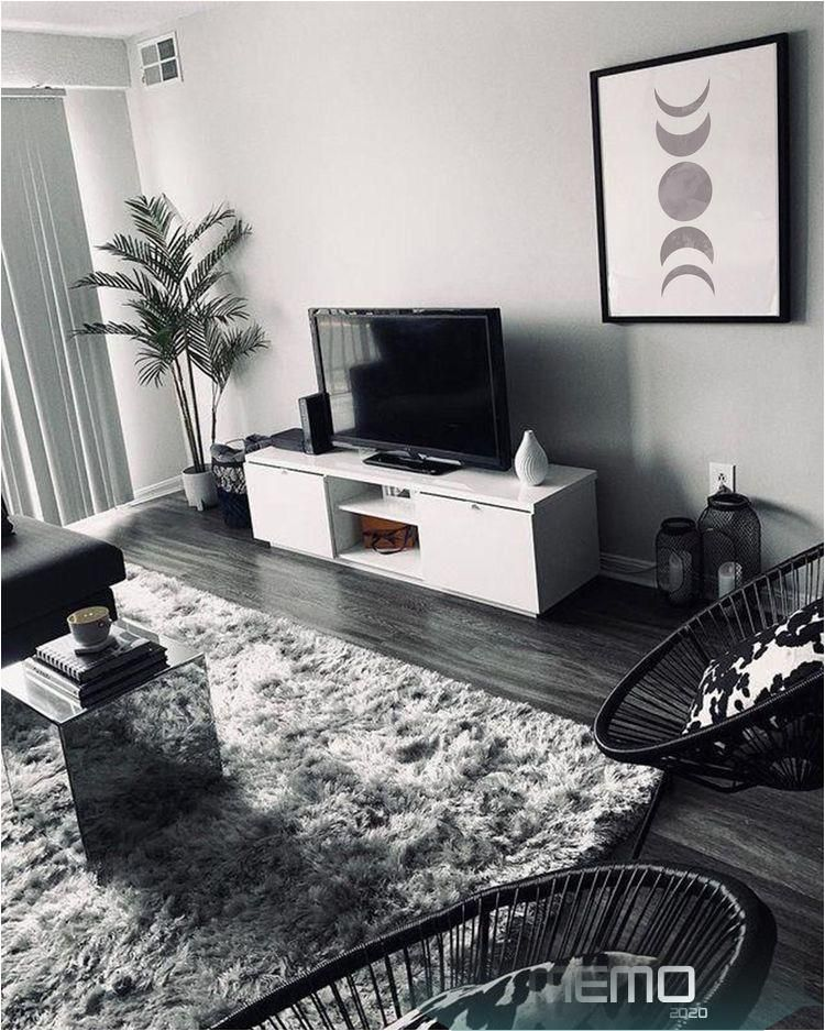 Jun 11, 2020 - bedroom aesthetic black and white #room # ...