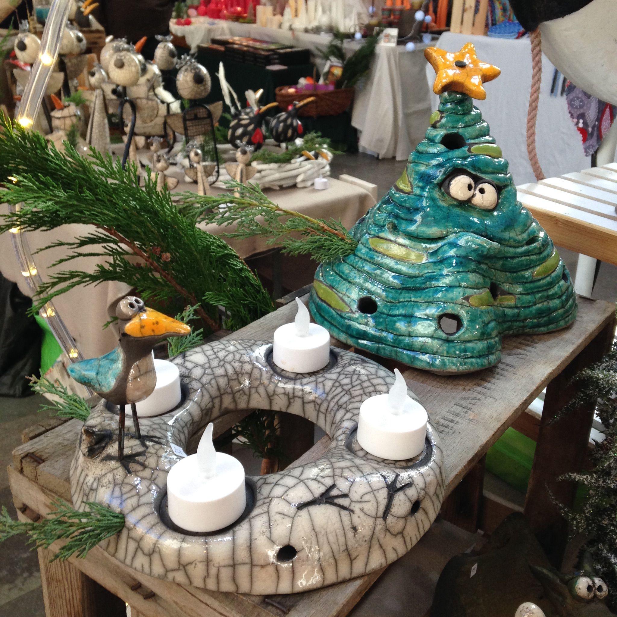 adventskranz und tannenbaum in 2019 weihnachten keramik. Black Bedroom Furniture Sets. Home Design Ideas