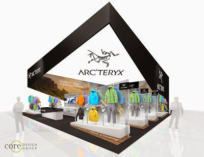 The Freelance Exhibit Design Blog Arcteryx 16m X 20m Ispo Munich Concept Design Exhibition Design Design