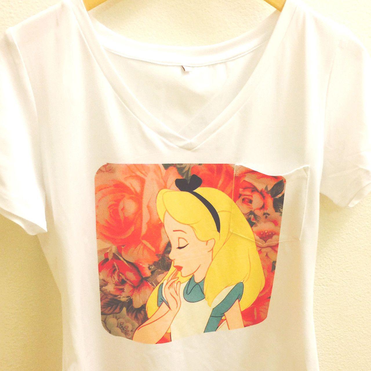 Alice in Wonderland Floral Shirt   Disney