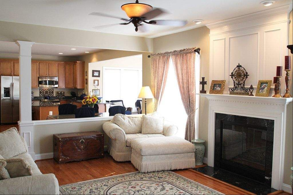 rooms with half walls google search home decor ideas half rh pinterest com