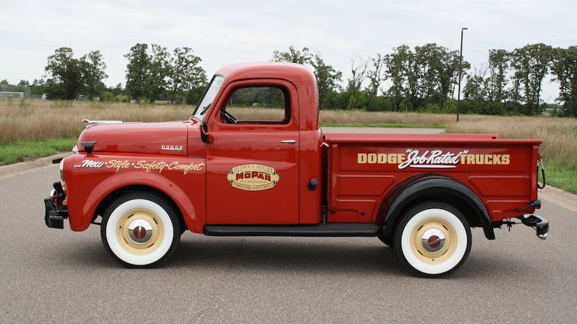 1950 Dodge B 2 Pickup S112 Chicago 2018 Dodge Mopar Mecum