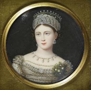 Princess Louise of Saxe Gotha Altenburg, in an unknown tiara ...