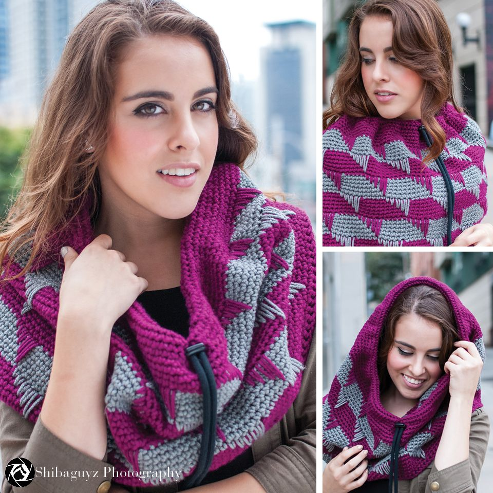 I Love Yarn Day Cowl - Free Pattern