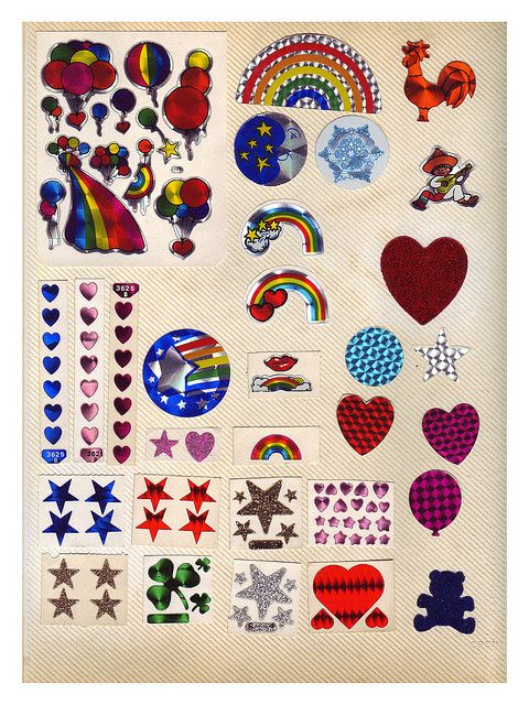 80 S Vintage Stickers Green4 Childhood Memories Childhood Memories 70s Sticker Collection