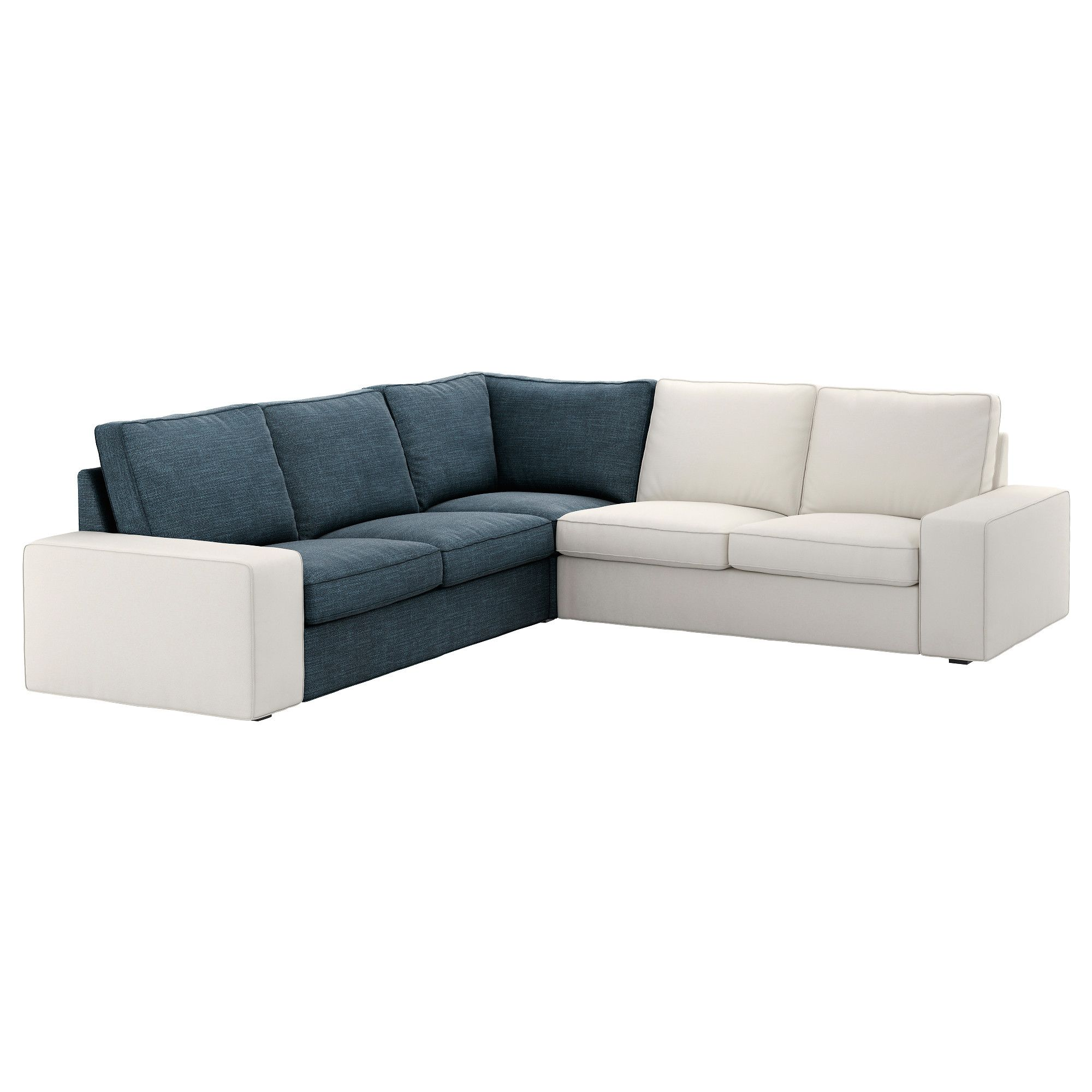 kivik u shaped sofa 7 seat hillared dark blue ikea in 2019 living rh pinterest com