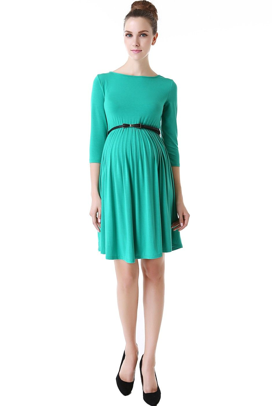 Momo maternity shannon pleated midi dress check out this great momo maternity shannon pleated midi dress check out this great style for 44 ombrellifo Image collections