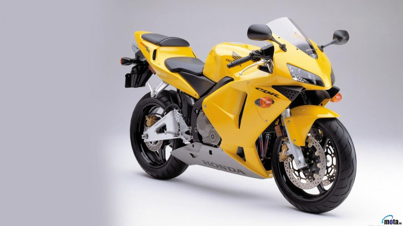 Wallpaper Yellow Motorcycle Honda Cbr 1366 X 768 Desktop Wallpapers