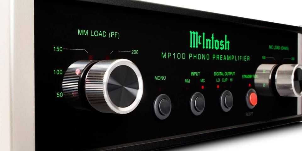 Soon to be released McIntosh MP100 phono pre-amplifier.
