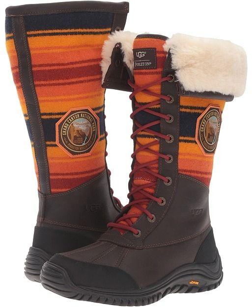 515b2b45b3f UGG Adirondack Tall NP Grand Canyon Women's Shoes   Products   Ugg ...