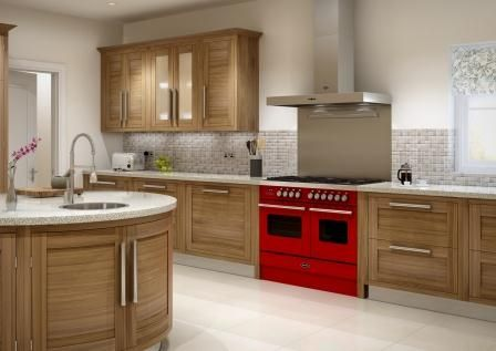 We Think The Ultra Modern Delphi Range Cooker Looks Great In This  Contemporary Kitchen!
