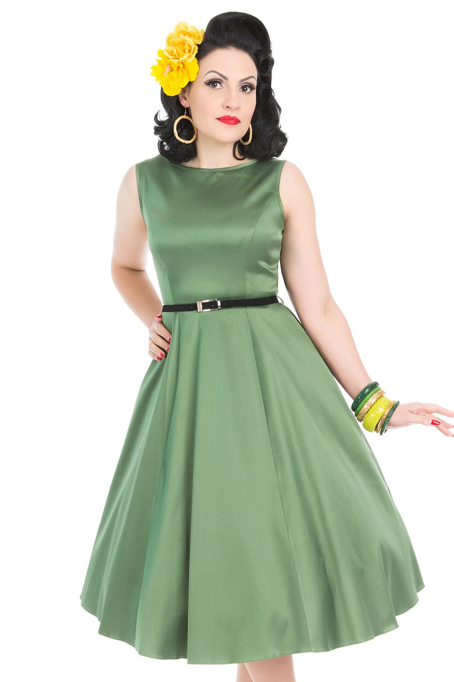 Hepburn dress english ivy vintage style dresses 1950s style hepburn dress english ivy ombrellifo Image collections