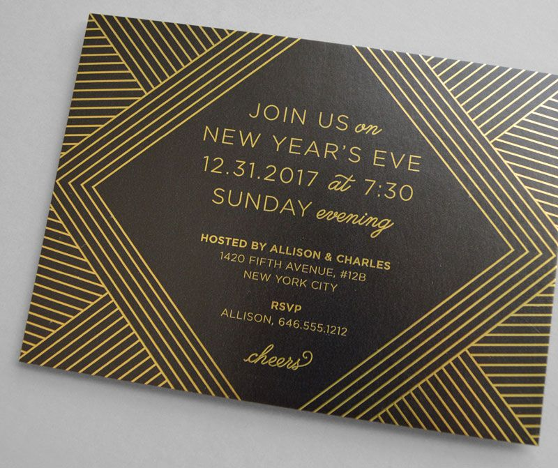 wedding celebration invitation%0A Kleinfeld Paper    Let u    s Toast Holiday Party Invitation